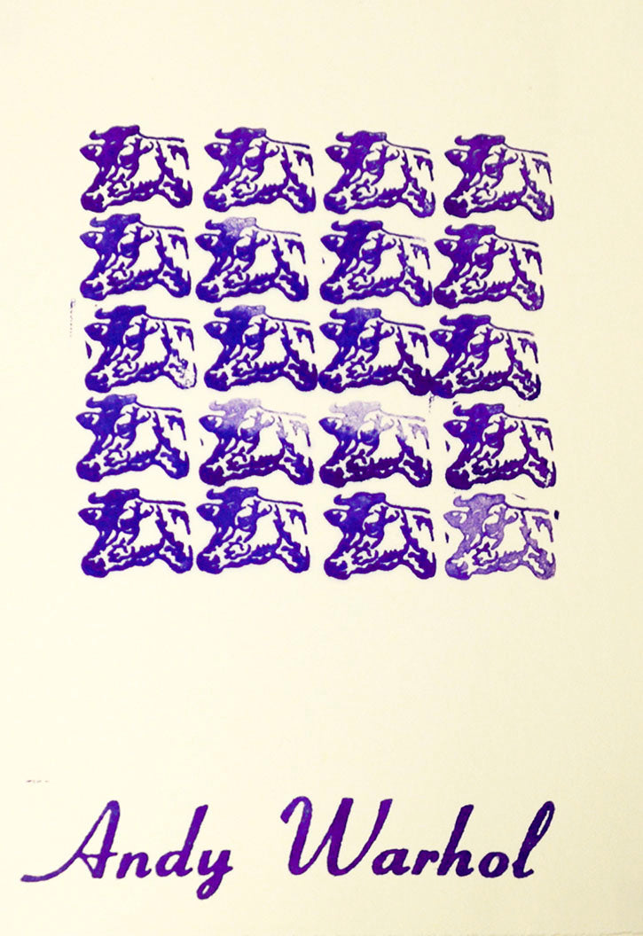 Stamped Indelibly (Portfolio with 14 signed/stamped works), 1967, by William  Katz