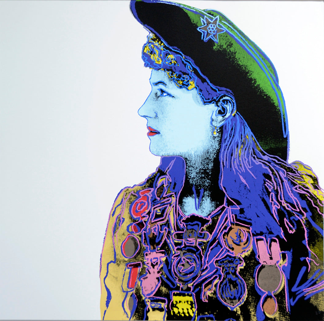 Annie Oakley, from Cowboys and Indians, 1986 by ANDY Warhol