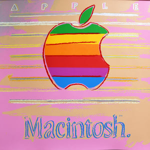 Apple from Ads Portfolio, 1985 by ANDY Warhol