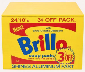 Brillo BOX yellow, 2018 by ANDY Warhol