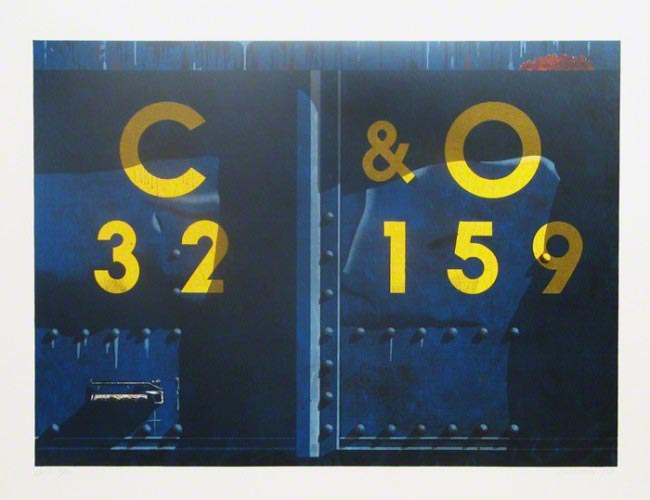 C & O by Robert Cottingham