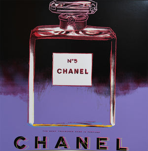 CHANEL No 5  from Ads Portfolio, 1985 by ANDY Warhol