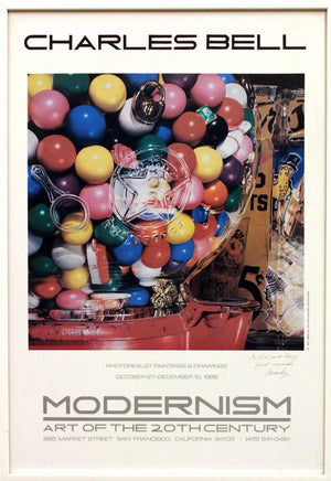 Modernism ART OF THE 20 TH CENTURY, exhibition poster by  Charles Bell