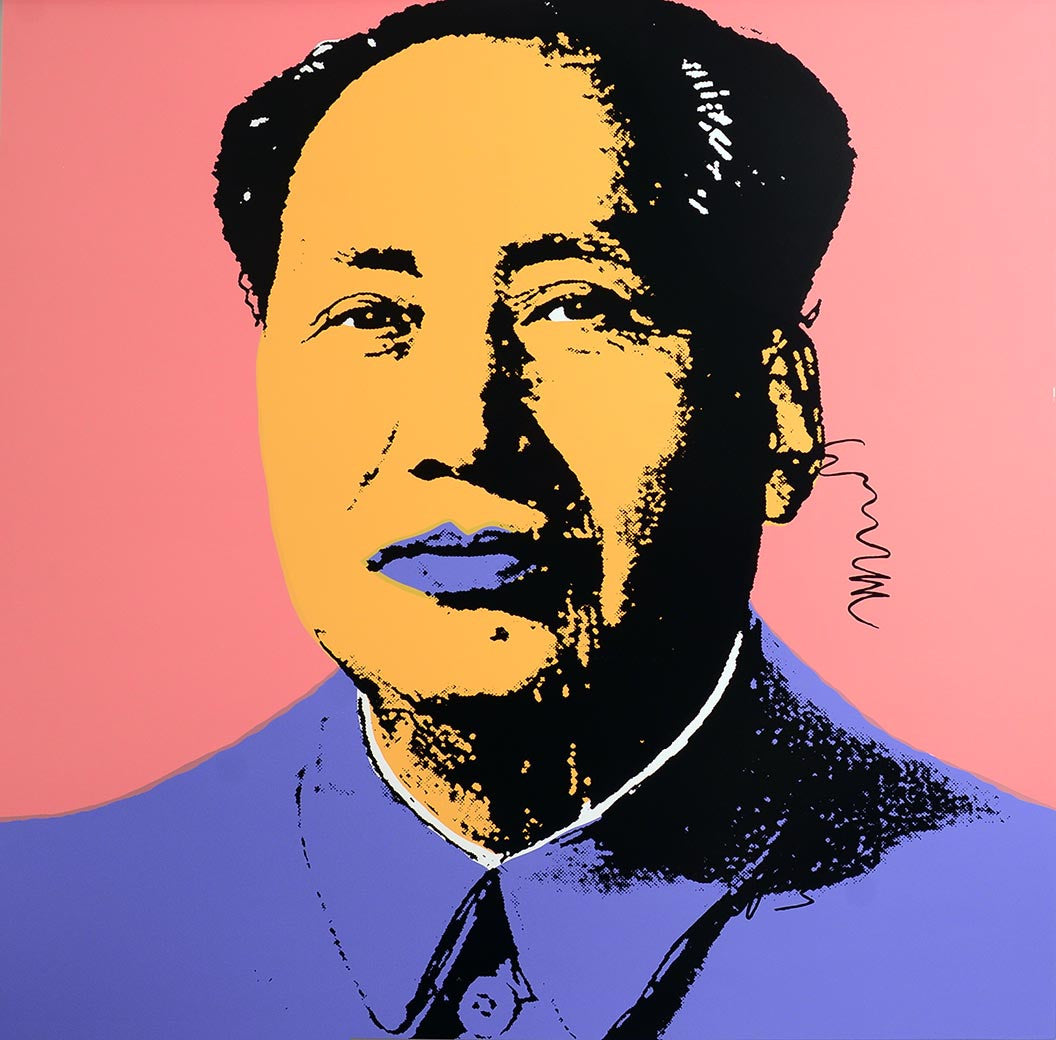 MAO, 1972 by ANDY WARHOL