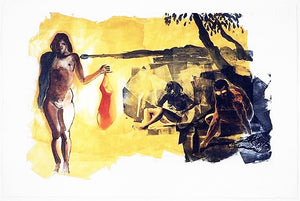 Rays 1989 by Eric Fischl