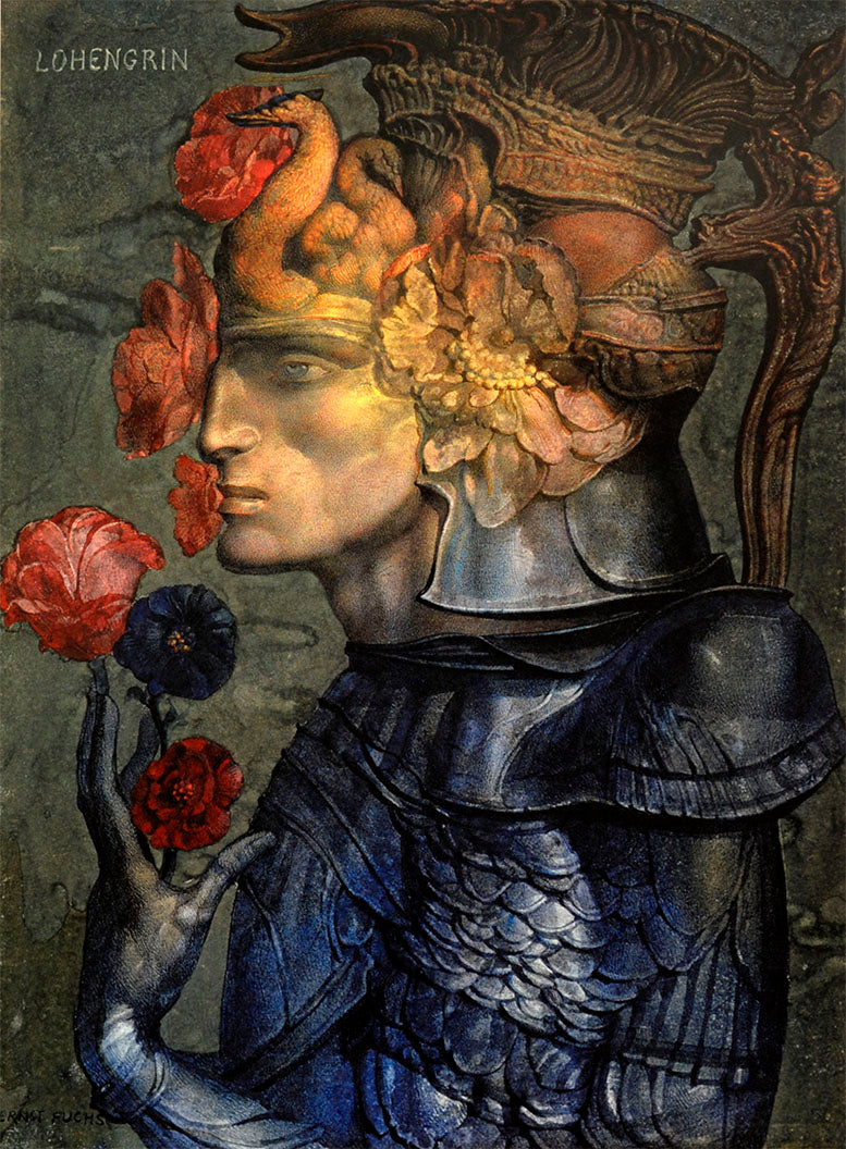 Untitled  by Ernst Fuchs