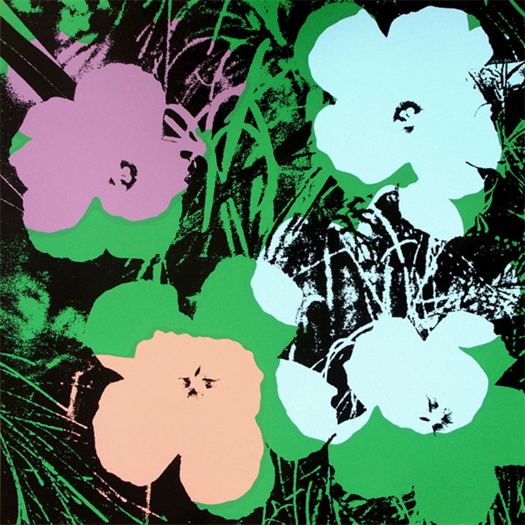 FLOWERS POSTER FS II 64 by ANDY WARHOL