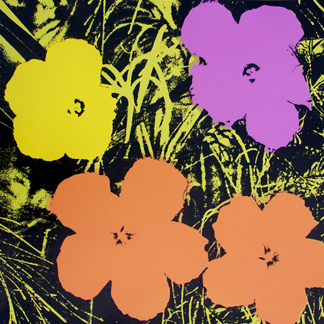 FLOWERS POSTER  FS II 67  by ANDY WARHOL