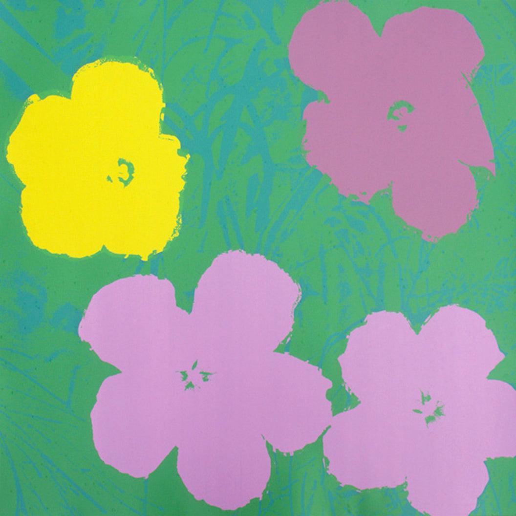 FLOWERS POSTER  FS II 68 by ANDY WARHOL