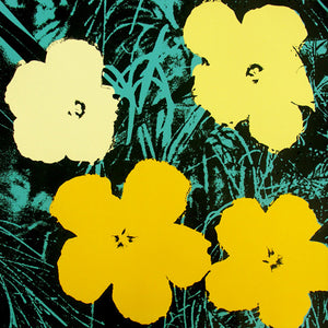 FLOWERS POSTER  FS II 72  by ANDY WARHOL