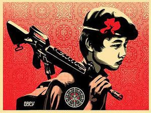 DUALITY OF HUMANITY 2 by Frank Shepard Fairey (Obey)