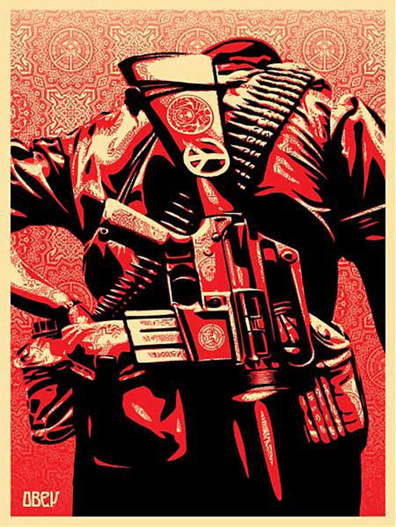 DUALITY OF HUMANITY 3 by Frank Shepard Fairey (Obey)