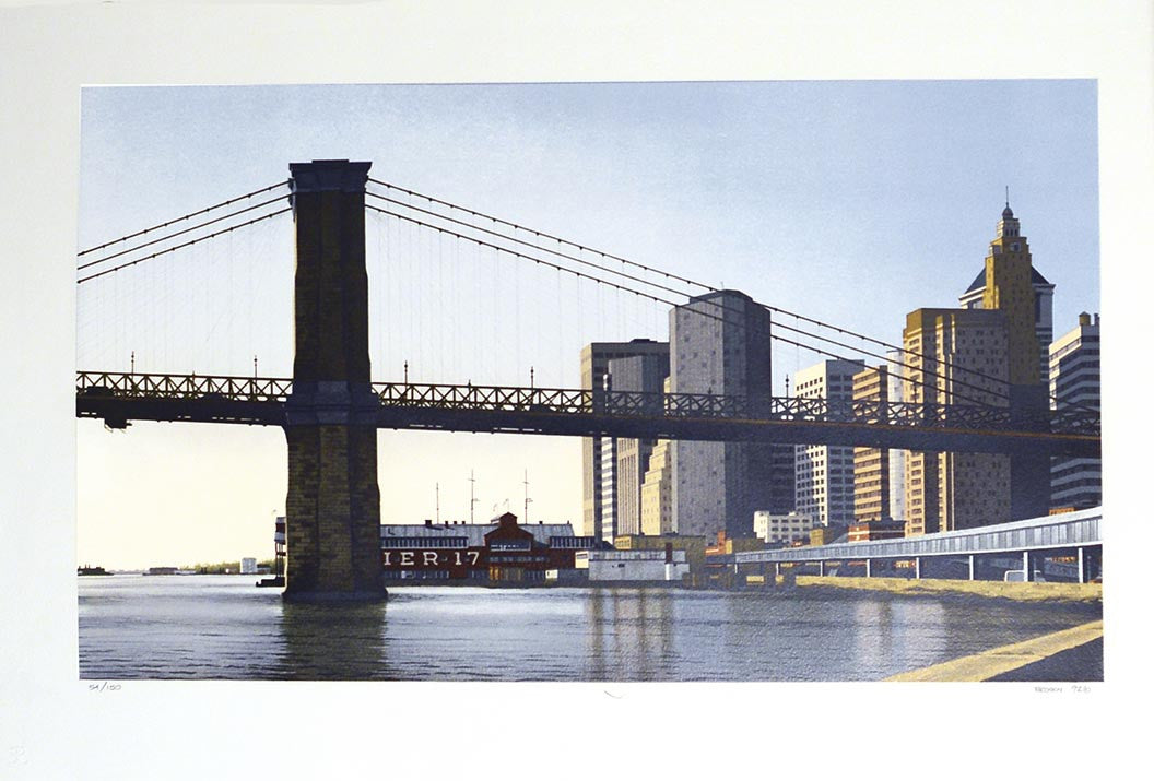 Frederick Brosen   Brooklyn Bridge 1992