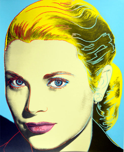 GRACE KELLY, 1984 by ANDY Warhol