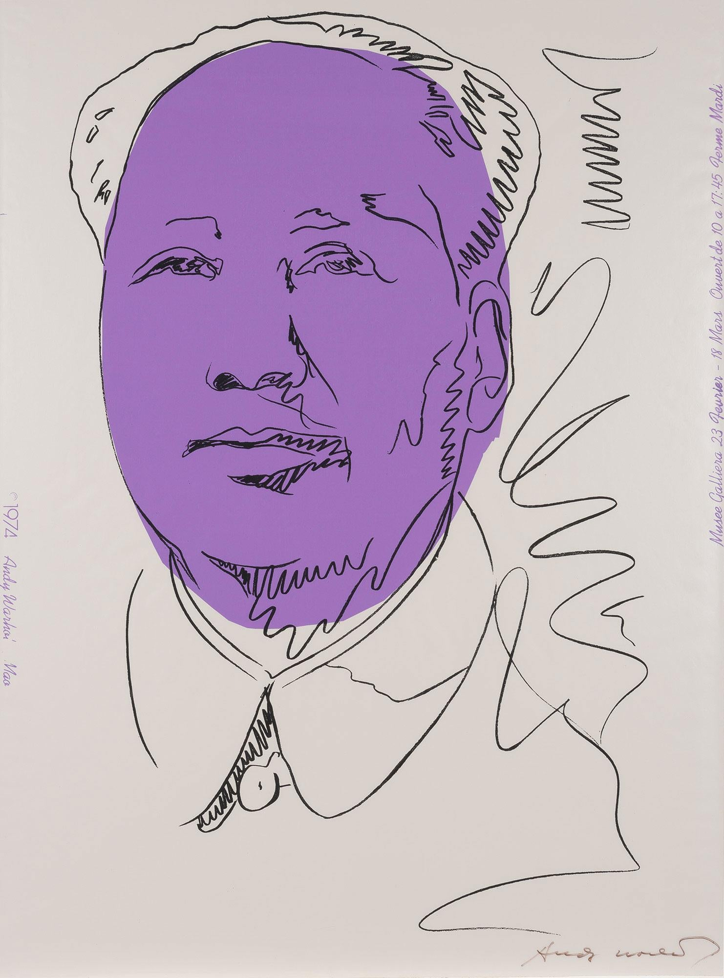 MAO 1974   Andy Warhol