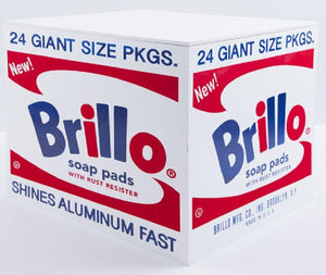 Brillo BOX, 2018 by ANDY Warhol