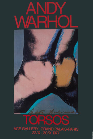TORSOS, signed by ANDY Warhol