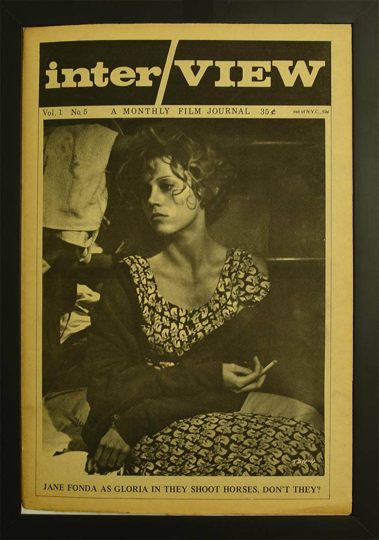 Interview Magazine 1969 by ANDY WARHOL