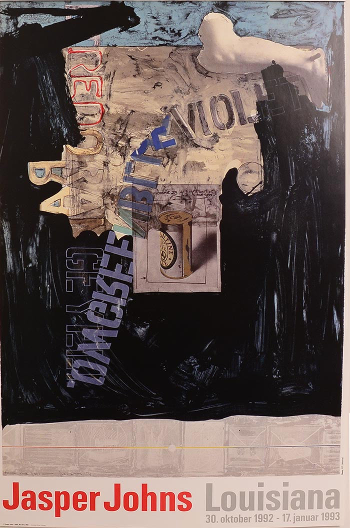 Louisiana, 1993 by JASPER JOHNS