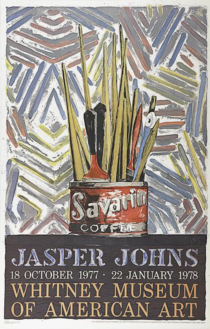 Savarin, (Whitney Museum of American Art), 1977 by JASPER JOHNS