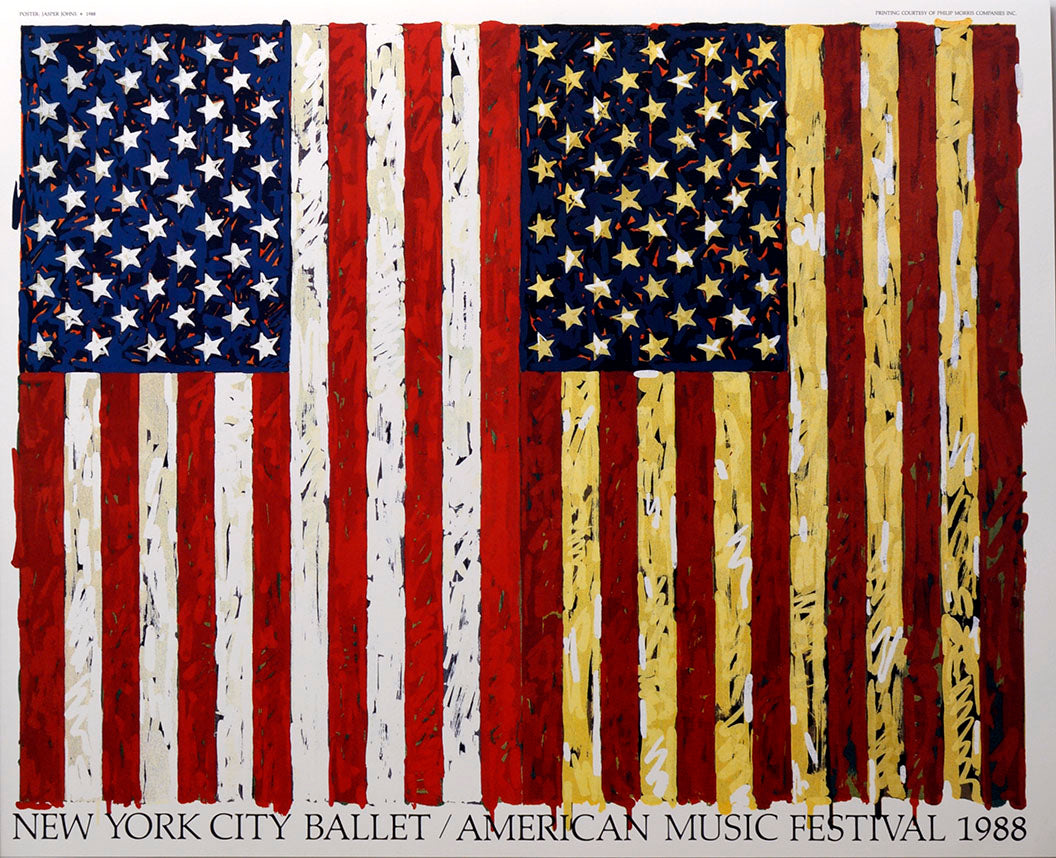 Untitled NYCB 1988  by JASPER JOHNS
