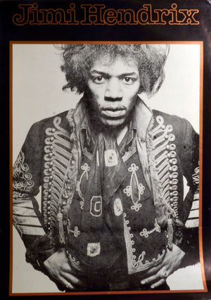 Vintages Poster  by  Jimi Hendrix