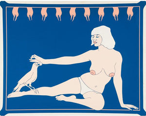 Bird Lady, 1965 by JOHN WESLEY