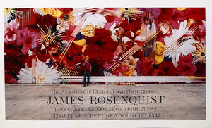 Leo Castelli Gallery Poster  by James ROSENQUIST