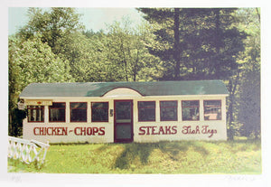 John Baeder Chicken Chops Steaks
