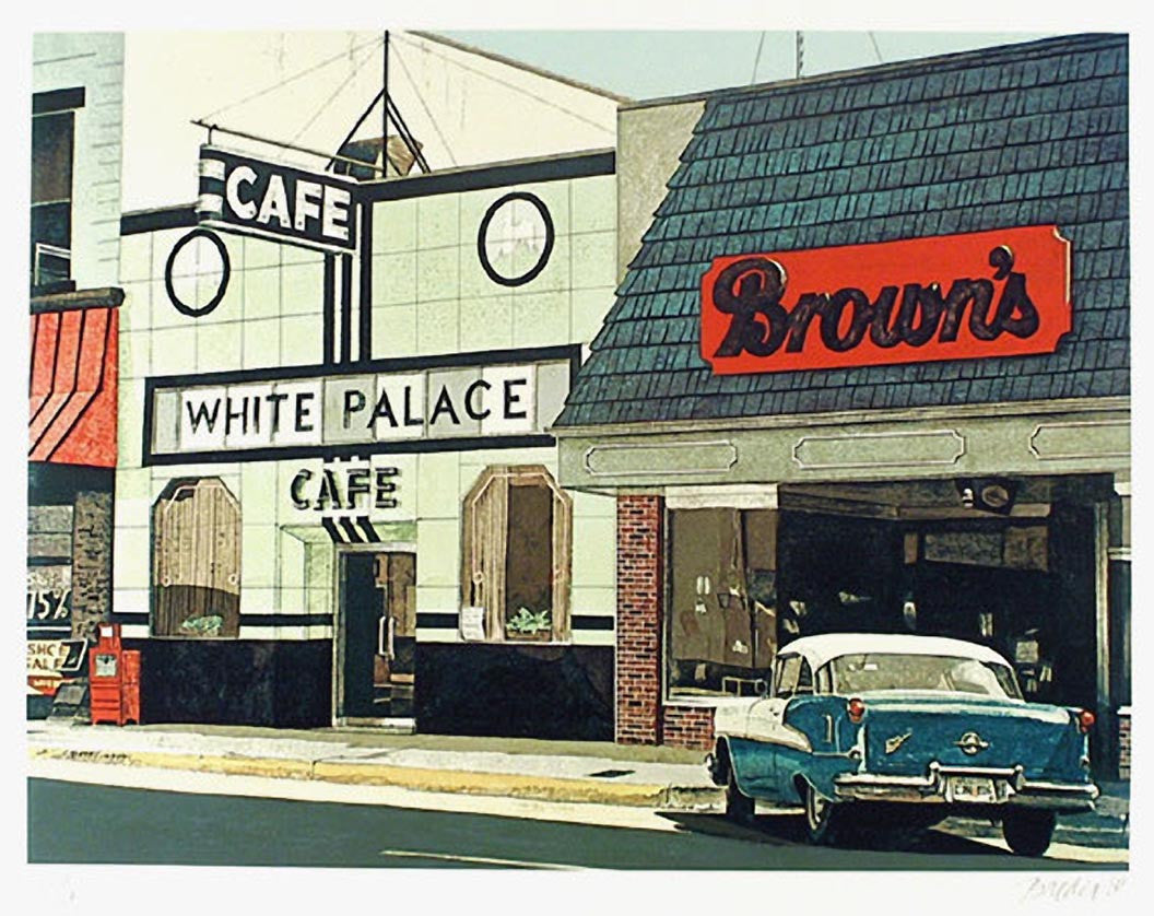 John Baeder White Palace Cafe