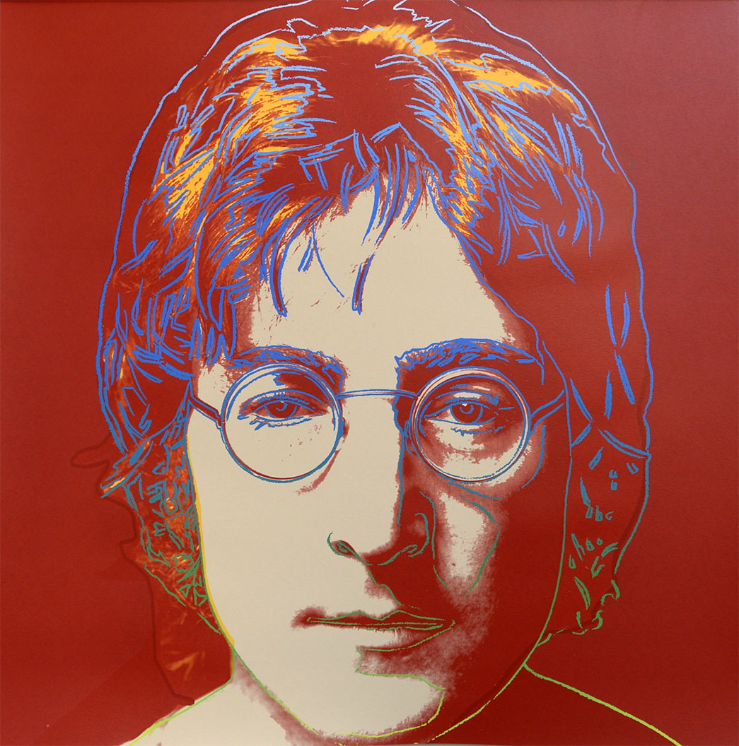 John Lennon, 1986 by ANDY Warhol