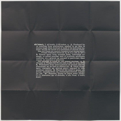 Joseph Kosuth Four Titled Abstracts