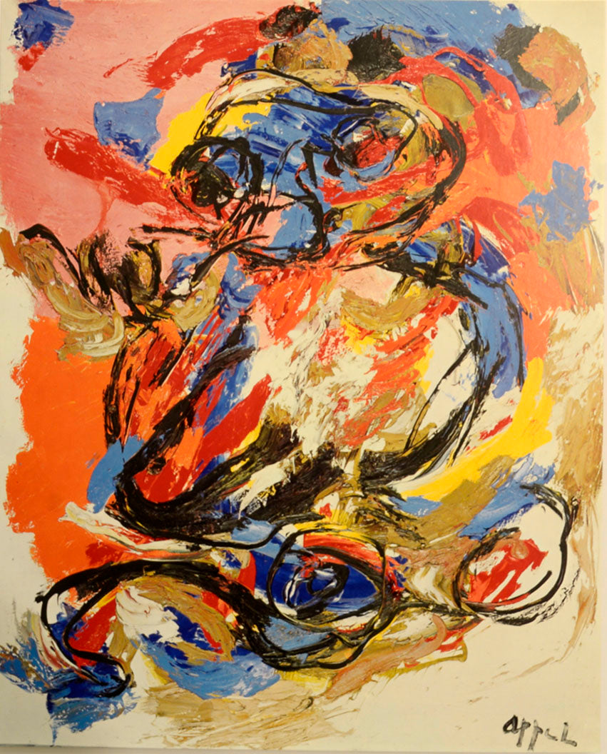 UNTITLED, by Karel Appel