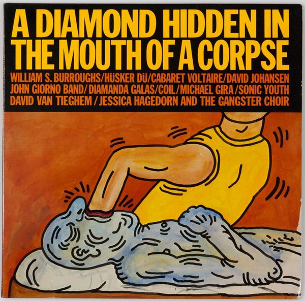 A Diamond Hidden in the Mouth of a Corpse  by Keith Haring