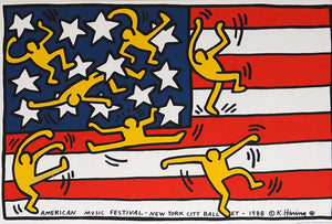 New York City Ballet POSTER by Keith Haring