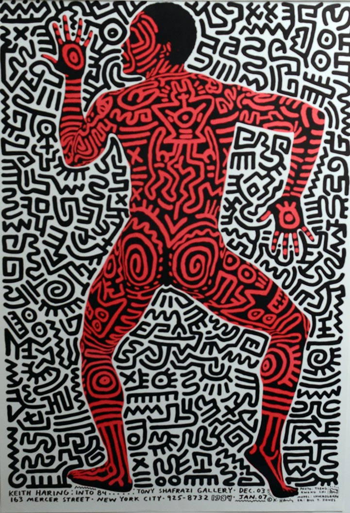 FUN GALLERY POSTER by Keith Haring