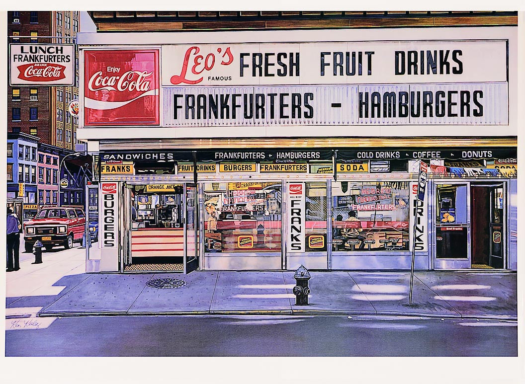 Leo's Frankfurters 1994 by Ken Keeley