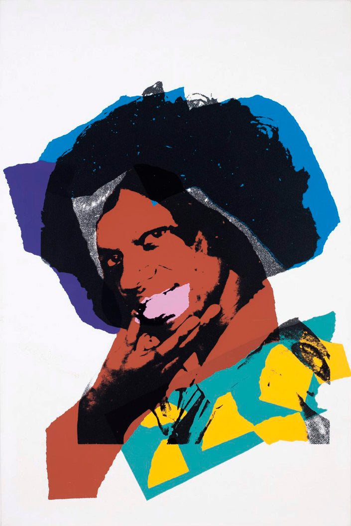 Ladies and Gentlemen, sig/num. 1975  by ANDY Warhol