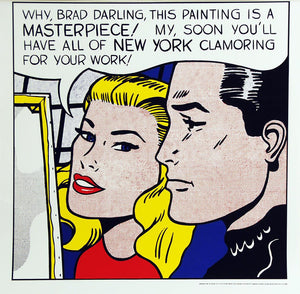 Lichtenstein Masterpiece, unsigned