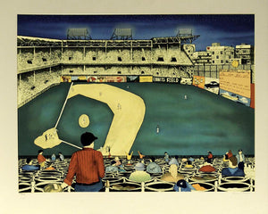 Old Ball Game (Ebbets Field)  by Linnea Pergola