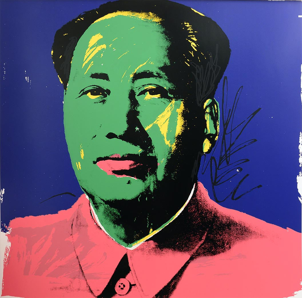 MAO, 1972 II.93 by ANDY WARHOL