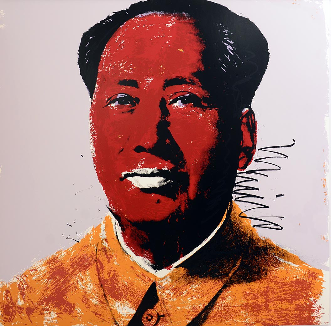 MAO, 1972 II.96 by ANDY WARHOL