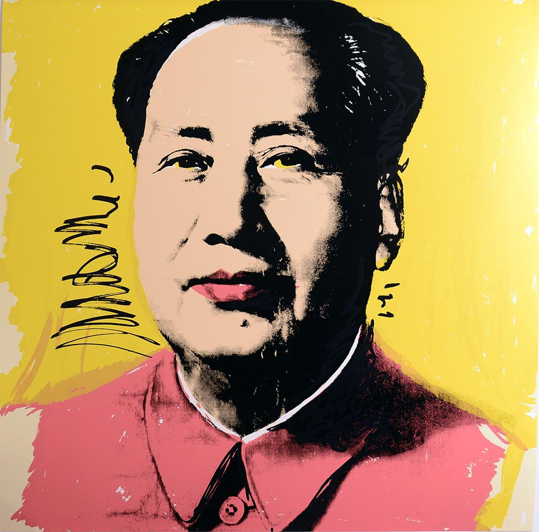MAO, 1972 II.97 by ANDY WARHOL
