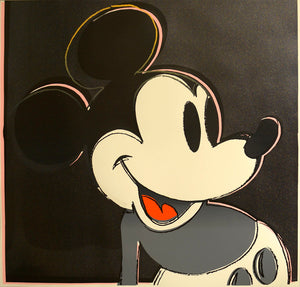Mickey Mouse from Myths Portfolio by ANDY Warhol