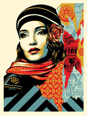 OBEY FIRE SALE  by Frank Shepard Fairey (Obey)