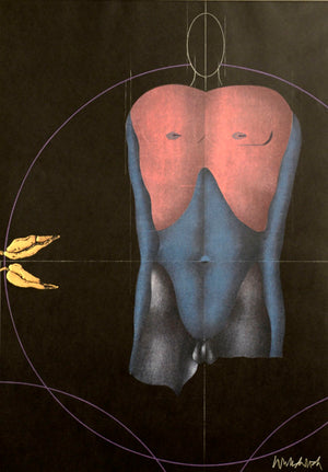 UNTITLED, by Paul Wunderlich
