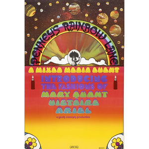 Peter Max Rainbow Lane