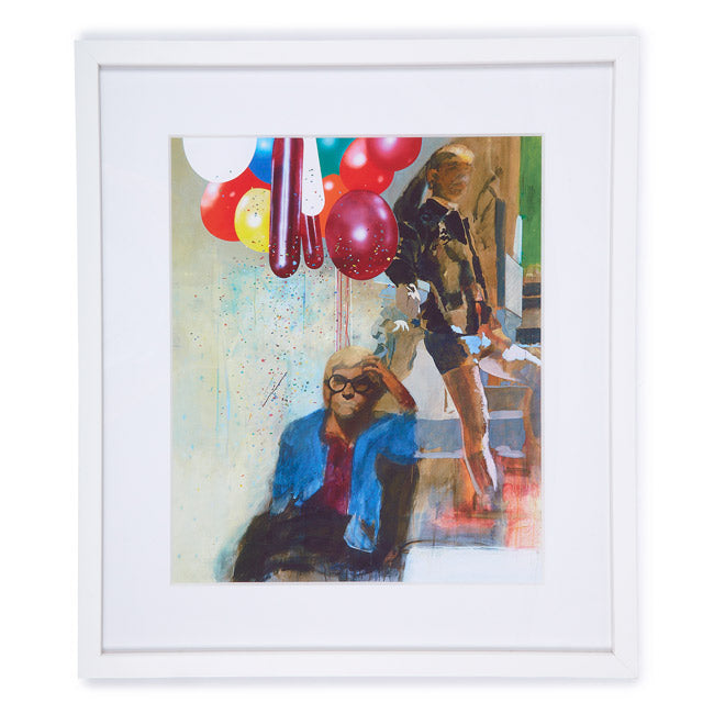 Portrait of David Hockney  by Peter Blake