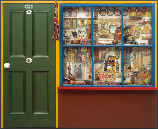 The Toy Shop  by Peter Blake