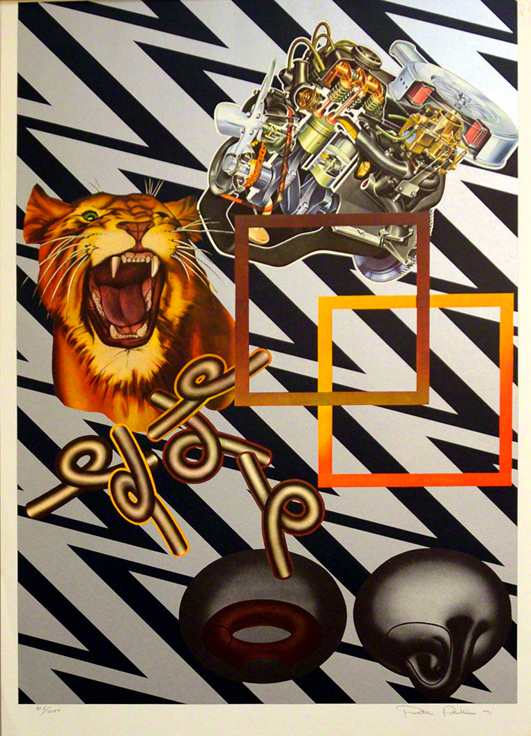 Safari (Silver) 1971 by  Peter Phillips,